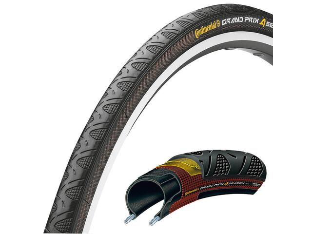 "Continental Grand Prix 4-Seasons - Pneu vélo - 28"" pliable noir"